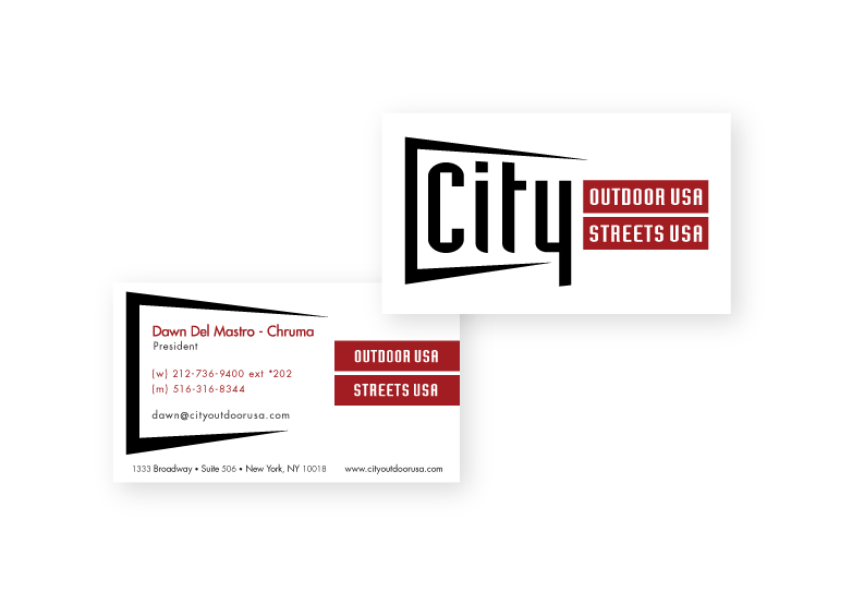 City Outdoor – Business Cards